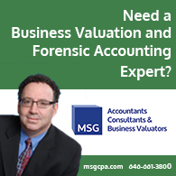 Mark Gottlieb Forensic Accounting Expert Ad