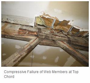 Bowstring Truss Failures Part 1 Deficiencies Amp Failure
