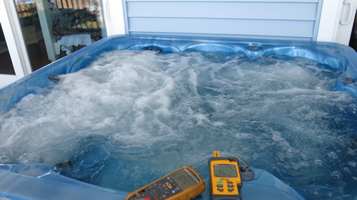 Monitoring Hot Tub Temperature