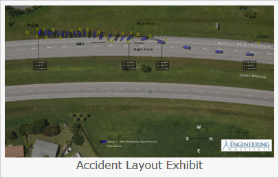 Accident Layout Exhibit