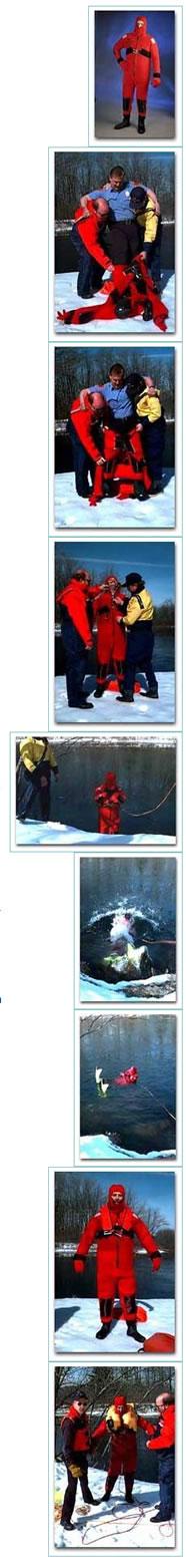 Ice Rescue Suit