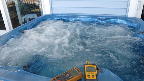 Monitoring Hot Tub Temperature