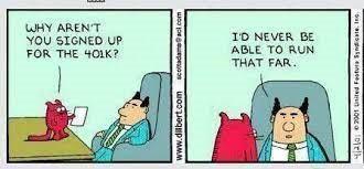financial planing cartoon