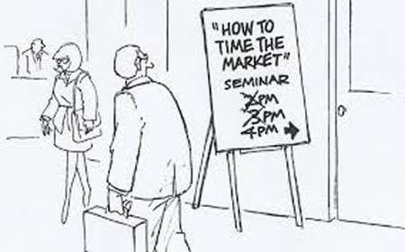 Market timing cartoon