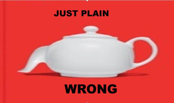 Wrong illustration