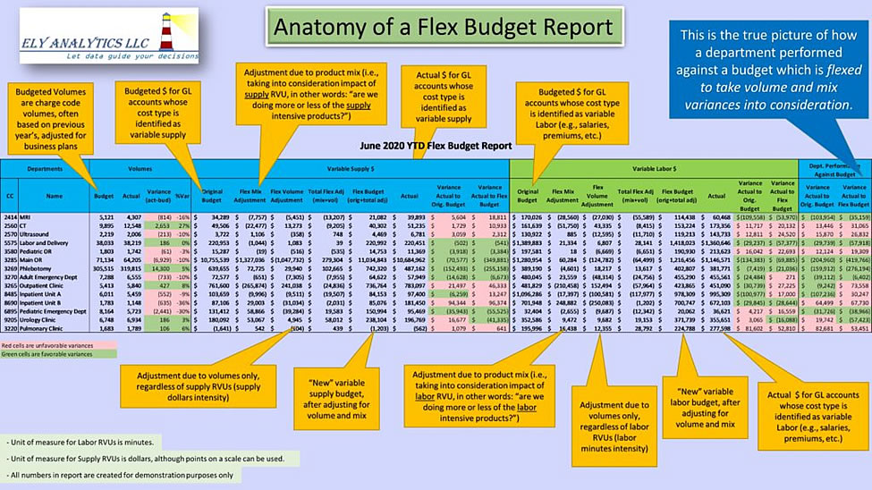 anatomy of hospital flex budget