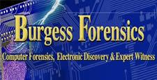 Burgess Forensics Logo-Expert Witness