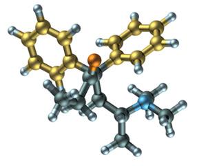 Methadone Molecular Structure